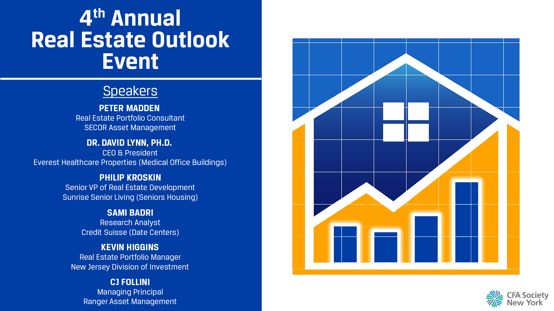 4th Annual Real Estate Outlook Event Cfa Society New York