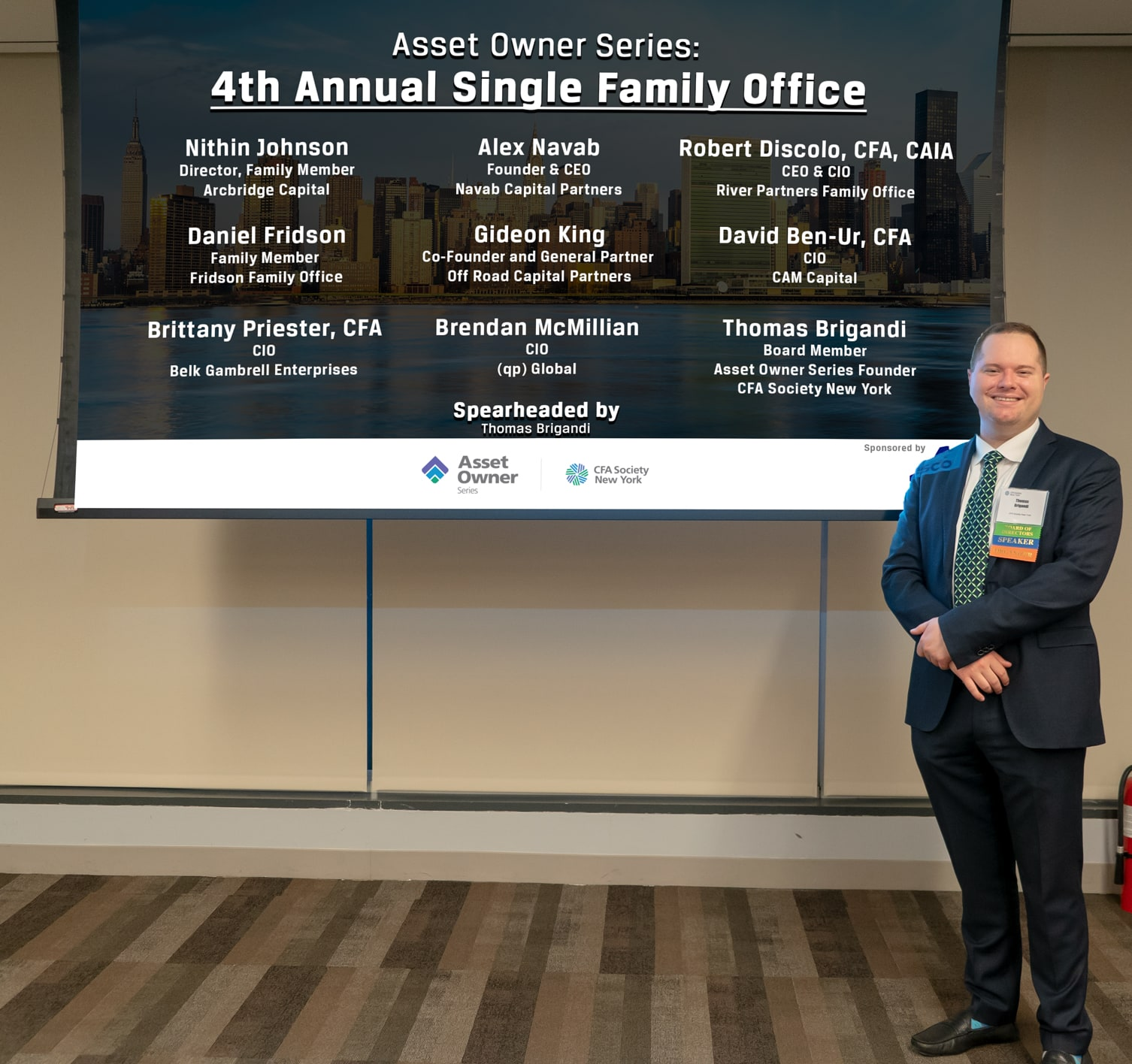 Asset Owner Series: 4th Annual Single Family Office » CFA